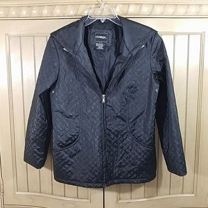 Outbrook Quilt-Look Jacket, sz S (4-6)